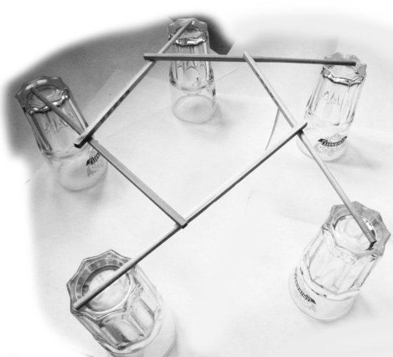 Structure à appuis réciproques
