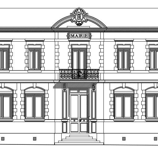 Etat des lieux sur un bâtiment municipale de la fin du 18éme