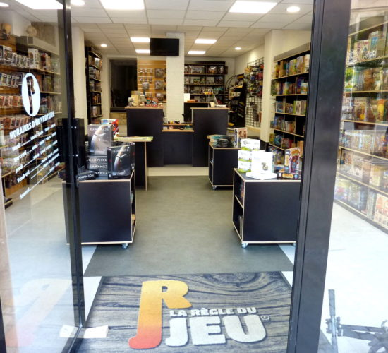 La Règle Du Jeu, rénovation d'un local commercial en centre ville.